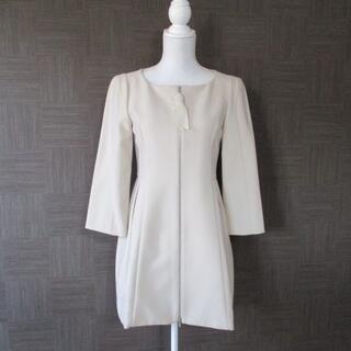 フォクシー(FOXEY)のフォクシー FOXEY スプリングコート 40 美品 日本製(スプリングコート)