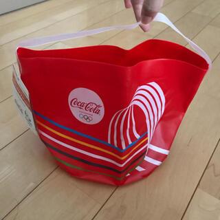 コカコーラ(コカ・コーラ)のオリンピックデザインアイスバケツ(トートバッグ)