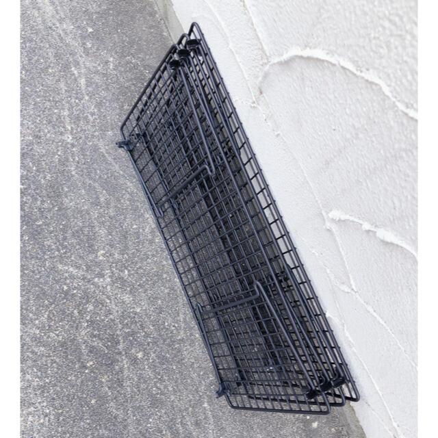 UNIFLAME(ユニフレーム)のフィールドラックタイプ ブラック セット 最終価格 スポーツ/アウトドアのアウトドア(テーブル/チェア)の商品写真