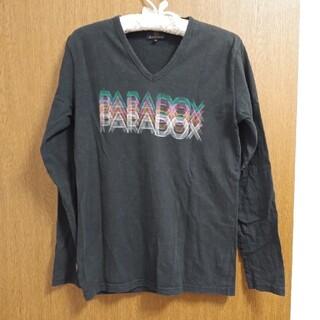 アールニューボールド(R.NEWBOLD)のR.NEWBOLD 長袖VネックTシャツ Mサイズ(Tシャツ/カットソー(七分/長袖))