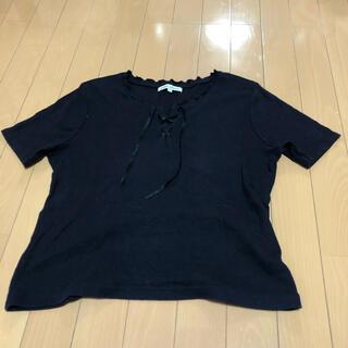 ローラアシュレイ(LAURA ASHLEY)のローラアシュレイ 半袖 L(Tシャツ(半袖/袖なし))