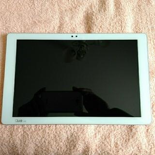 エルジーエレクトロニクス(LG Electronics)の【ジャンク】au Qua tab PZ LGT32 ピンク(タブレット)