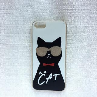 パサージュミニョン(passage mignon)の【未使用・美品】Iphone5/5s/SEケース ネコ CAT アイフォン(iPhoneケース)
