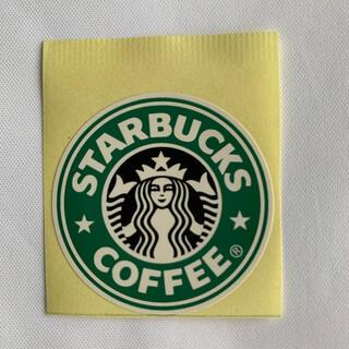 スターバックスコーヒー(Starbucks Coffee)のスターバックス ロゴ ステッカー ラベル 1枚(ノベルティグッズ)