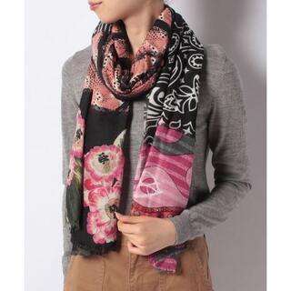 デシグアル(DESIGUAL)の新品 タグ付き  長方形スカーフ  ストール デシグアル(バンダナ/スカーフ)