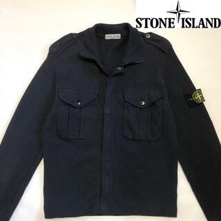 ストーンアイランド(STONE ISLAND)のSTONE ISLAND コットンジップブルゾン SIZE S(ブルゾン)