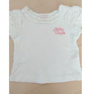 シャーリーテンプル(Shirley Temple)のシャーリテンプル 半袖Tシャツ フリル 90cm(Tシャツ)