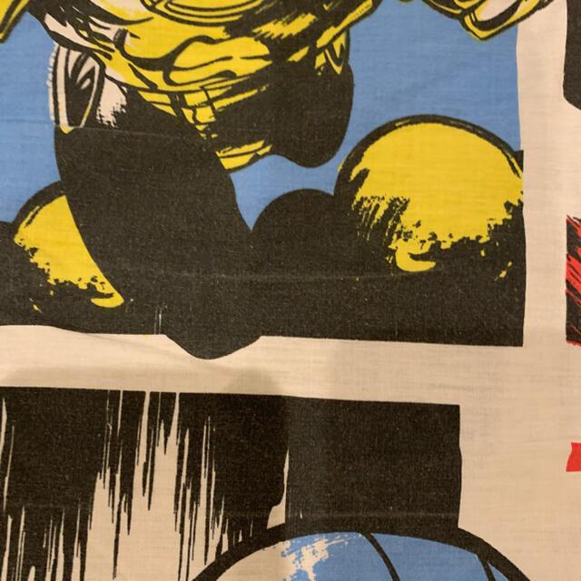 MARVEL(マーベル)の【最安値です】マーベル marvel フラットシーツ 生地214 アメリカ雑貨 ハンドメイドの素材/材料(生地/糸)の商品写真