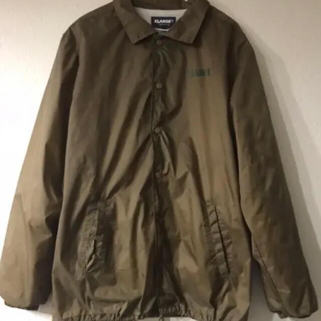 XLARGE(エクストララージ)のX-LARGE コーチジャケット ブラウン L メンズのジャケット/アウター(ナイロンジャケット)の商品写真