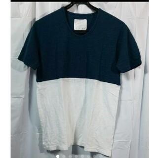 オーレット(OURET)の未使用 OURET 半袖 バイカラーカットソー(Tシャツ/カットソー(半袖/袖なし))