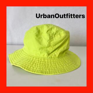 UrbanOutfitters バケットハット イエロー レアカラー