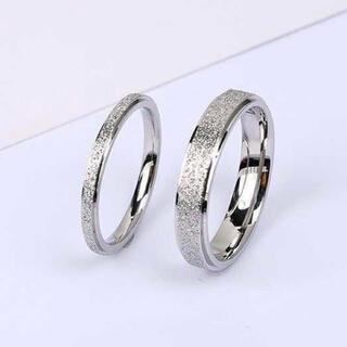 ペアリング ラフリング  ステンレスリング ステンレス指輪 ピンキー シルバー(リング(指輪))