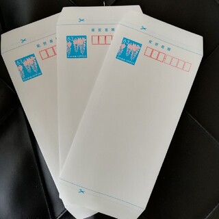 ミニレター 3枚 三枚(使用済み切手/官製はがき)