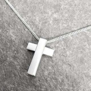 グッチ(Gucci)の正規品 グッチ ネックレス クロス 十字架 シルバー SV925 チェーン 銀5(ネックレス)