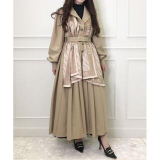 eimy istoire - 新作 完売色 eimy logo scarf プリーツシングルコート