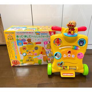 アンパンマン 乗って!押して!へんしんウォーカー PINOCCHIO(手押し車/カタカタ)