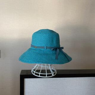 フルラ(Furla)のFURLA  麦わら帽子 未使用(麦わら帽子/ストローハット)