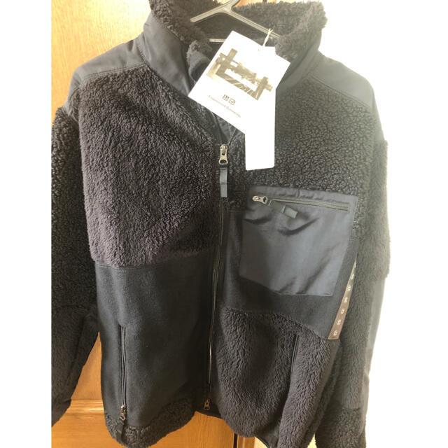 Engineered Garments(エンジニアードガーメンツ)のエンジニアドガーメンツ ユニクロ コンビネーション フリースジャケット メンズのジャケット/アウター(ブルゾン)の商品写真