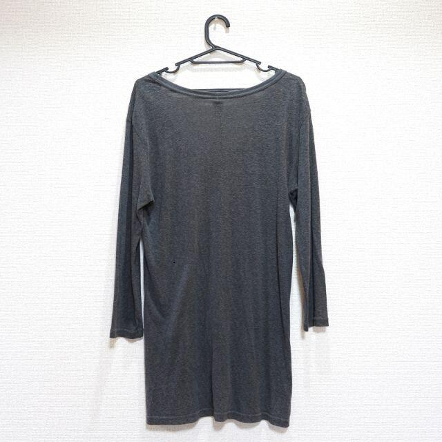 ATTACHIMENT(アタッチメント)のATTACHMENT アタッチメント ロンT グレー サイズ:1 メンズのトップス(Tシャツ/カットソー(七分/長袖))の商品写真