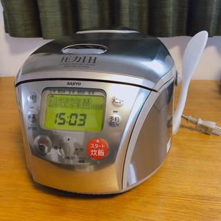 サンヨー(SANYO)の圧力IHジャー炊飯器 SANYO 5.5合(炊飯器)