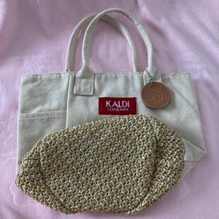 カルディ(KALDI)のカルディ 春のバック 新品未使用(トートバッグ)