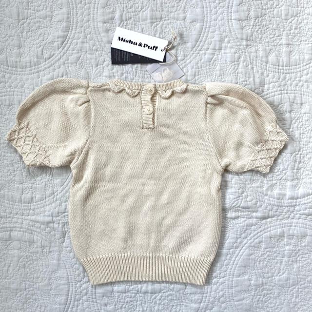 Caramel baby&child (キャラメルベビー&チャイルド)のmisha & puff   トップス キッズ/ベビー/マタニティのキッズ服女の子用(90cm~)(ニット)の商品写真