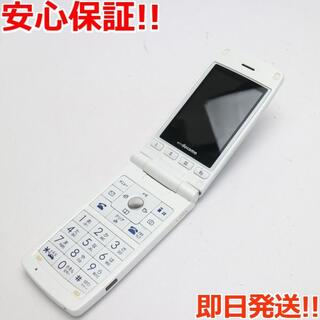 エルジーエレクトロニクス(LG Electronics)の美品 L-03A パールホワイト 白ロム(携帯電話本体)