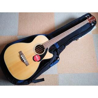 【美品】アコースティックベース Fender CB-60SCE Nat(アコースティックベース)