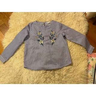 グローブ(grove)のgroveストライプシャツ(シャツ/ブラウス(長袖/七分))