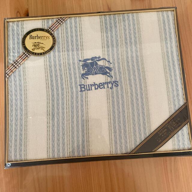 BURBERRY(バーバリー)の新品 burberry ジャガードタオルシーツ140×240cm  日本製 インテリア/住まい/日用品の寝具(シーツ/カバー)の商品写真