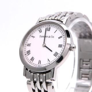 ティファニー(Tiffany & Co.)の【TIFFANY&Co.】ティファニー 時計 'クラシック' ホワイト☆極美品☆(腕時計)