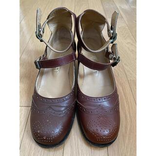 ジェーンマープル(JaneMarple)のJaneMarple2連ストラップシューズ(ローファー/革靴)