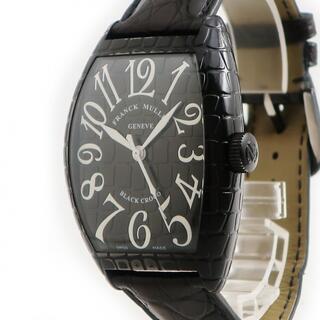フランクミュラー(FRANCK MULLER)のフランクミュラー  トノウカーベックス ブラッククロコ 8880SCBL(腕時計(アナログ))