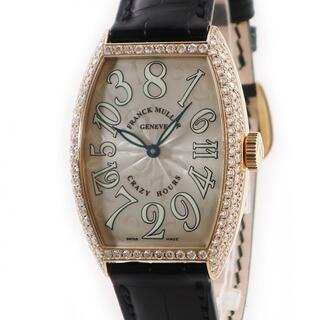 フランクミュラー(FRANCK MULLER)のフランクミュラー  クレイジーアワーズ 5850CH 自動巻き メンズ(腕時計(アナログ))