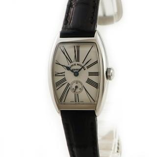フランクミュラー(FRANCK MULLER)のフランクミュラー  トノウカーベックス 1750S6 手巻き レディース(腕時計)