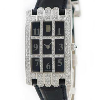 ハリーウィンストン(HARRY WINSTON)のハリーウィンストン  アヴェニュー グリッド  クオーツ メンズ 腕時計(腕時計(アナログ))
