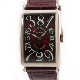 フランクミュラー(FRANCK MULLER)のフランクミュラー  ロングアイランド クレイジーアワー 1200CH 自(腕時計(アナログ))