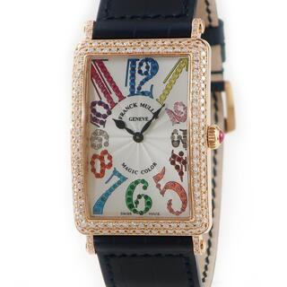 フランクミュラー(FRANCK MULLER)のフランクミュラー  ロングアイランド マジックカラー 1002QZ クオ(腕時計(アナログ))