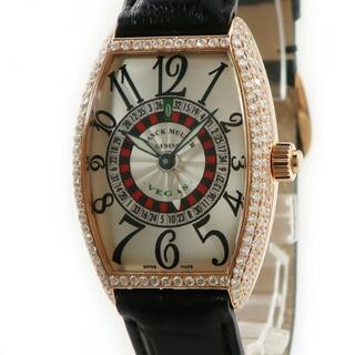 フランクミュラー(FRANCK MULLER)のフランクミュラー  ヴェガス 5850 VEGAS 自動巻き メンズ 腕(腕時計(アナログ))