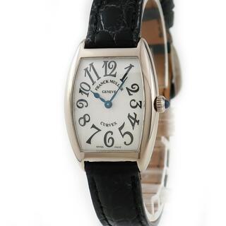 フランクミュラー(FRANCK MULLER)のフランクミュラー  トノウカーベックス 1752QZ クオーツ レディー(腕時計)