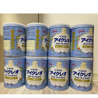 アイクレオ フォローアップミルク 大缶 820g 8缶(その他)