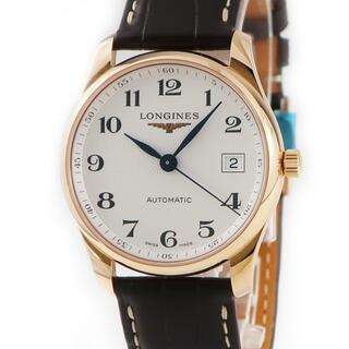 ロンジン(LONGINES)のロンジン  マスターコレクション L2.518.8.78.3 自動巻き(腕時計(アナログ))