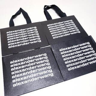 アレキサンダーワン(Alexander Wang)のALEXANDER WANG アレキサンダーワン ショップ袋 ショッパー 4枚(ショップ袋)