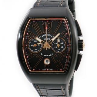 フランクミュラー(FRANCK MULLER)のフランクミュラー  ヴァンガード クロノ V45CCDTJTTNRBR5(腕時計(アナログ))