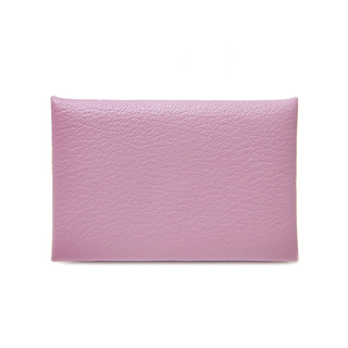 Hermes - エルメス  カードケース  カルヴィ  D刻印 ピンク
