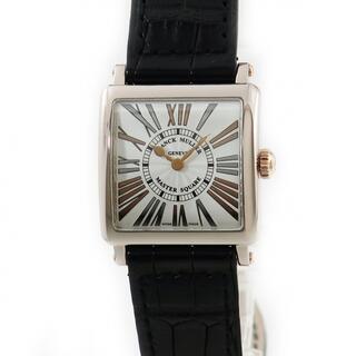 フランクミュラー(FRANCK MULLER)のフランクミュラー  マスタースクエア 6002SQZRREL クオーツ(腕時計)