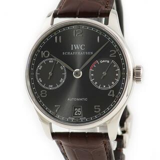 インターナショナルウォッチカンパニー(IWC)のIWC  ポルトギーゼ オートマティック 7デイズ IW500106 自(腕時計(アナログ))