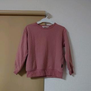 フタフタ(futafuta)のトレーナー 120 ピンク 長袖(Tシャツ/カットソー)