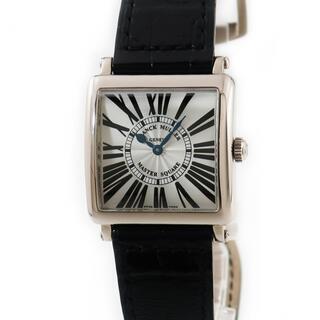 フランクミュラー(FRANCK MULLER)のフランクミュラー  マスタースクエア 6002LQZ クオーツ レディー(腕時計)