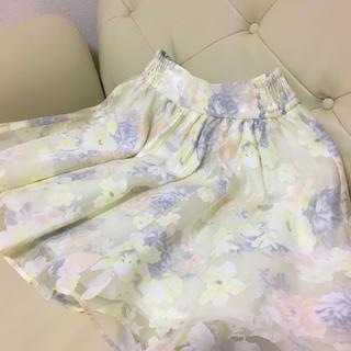 リズリサ(LIZ LISA)の♡黄色 スカート♡(ひざ丈スカート)